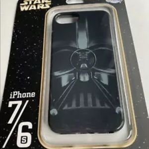 DISNEY PARK DARTH VADAR IPHONE 7 6s PHONE CASE NIB